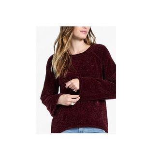 NWT Lucky Brand Chenille Long Sleeve Sweater Sz M